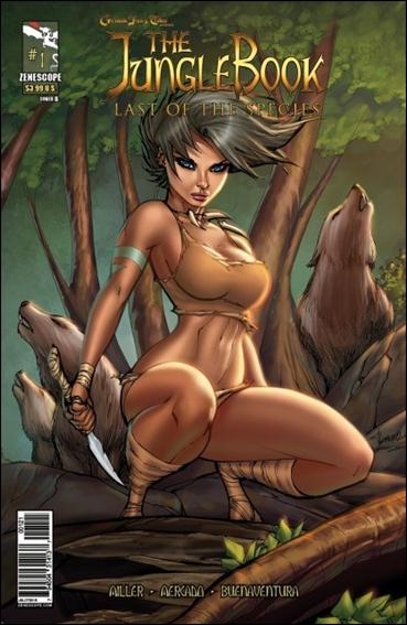 Grimm Fairy Tales Presents The Jungle Book: Last of the Species 1-B by Zenescope Entertainment