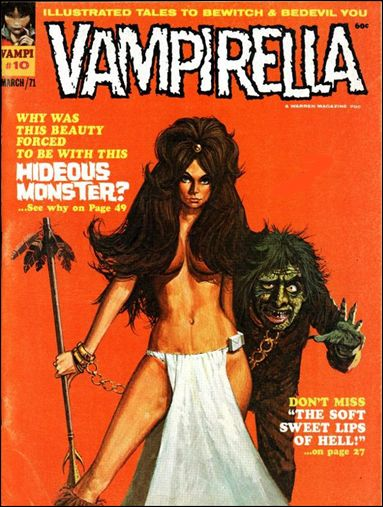 Vampirella 10-A by Warren