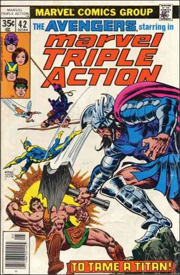 Marvel Triple Action (1972) 42-A by Marvel