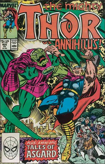 Thor (1966) 405-A by Marvel