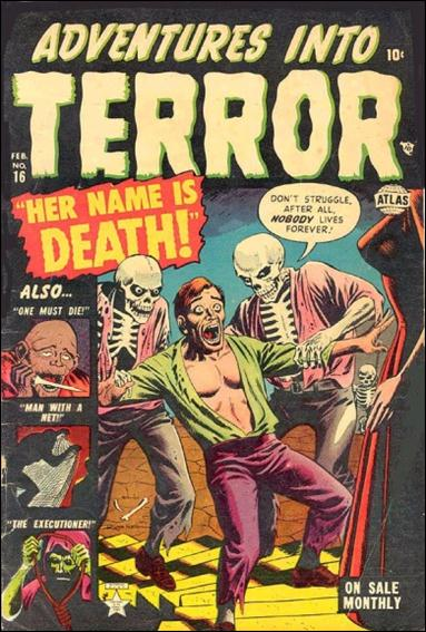 Adventures into Terror 16-A by Atlas