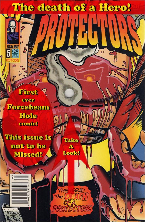 Protectors (1992) 5-A by Malibu