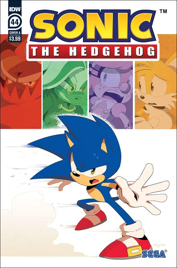 Sonic the Hedgehog (2018) 44-A by IDW