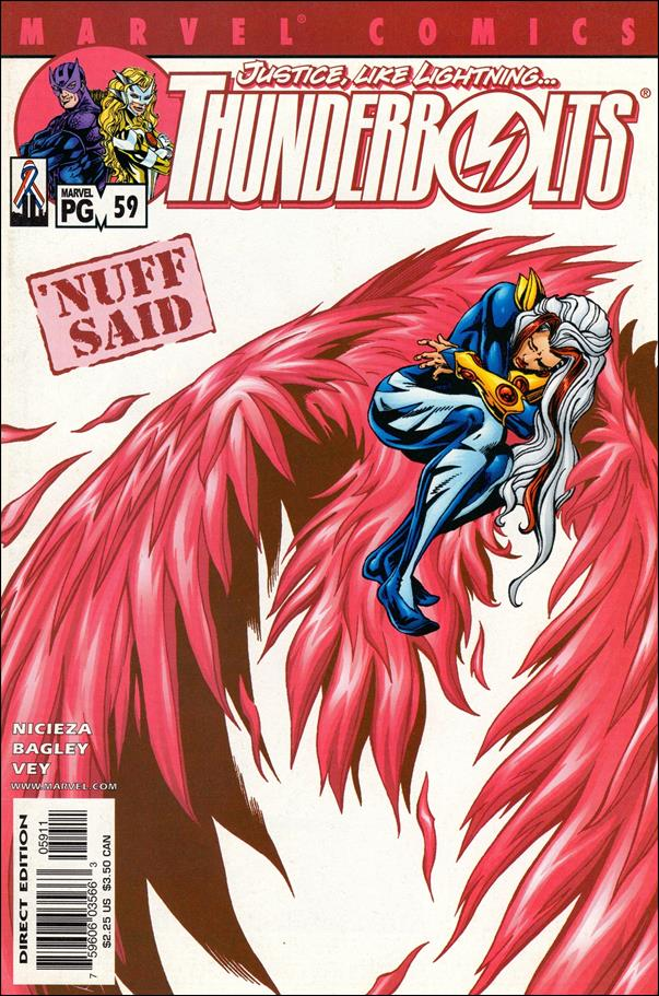 Thunderbolts (1997) 59-A by Marvel
