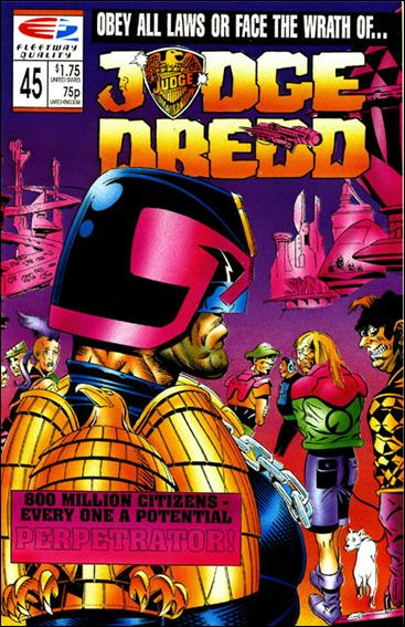 Judge Dredd (1986) 45-A by Quality Comics