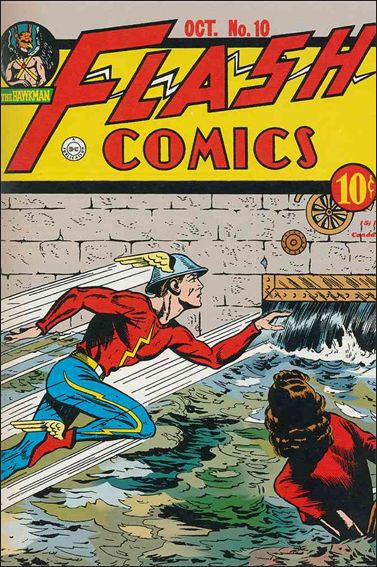 Flash Comics (1939) 10-A by DC