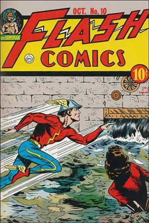 Flash Comics (1939) 10-A