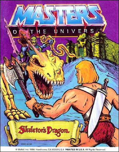 Masters of the Universe (1983) 4.2-A by Mattel