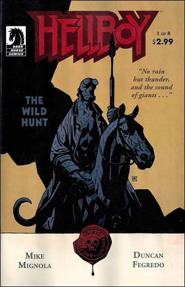 Hellboy: The Wild Hunt 1-A by Dark Horse