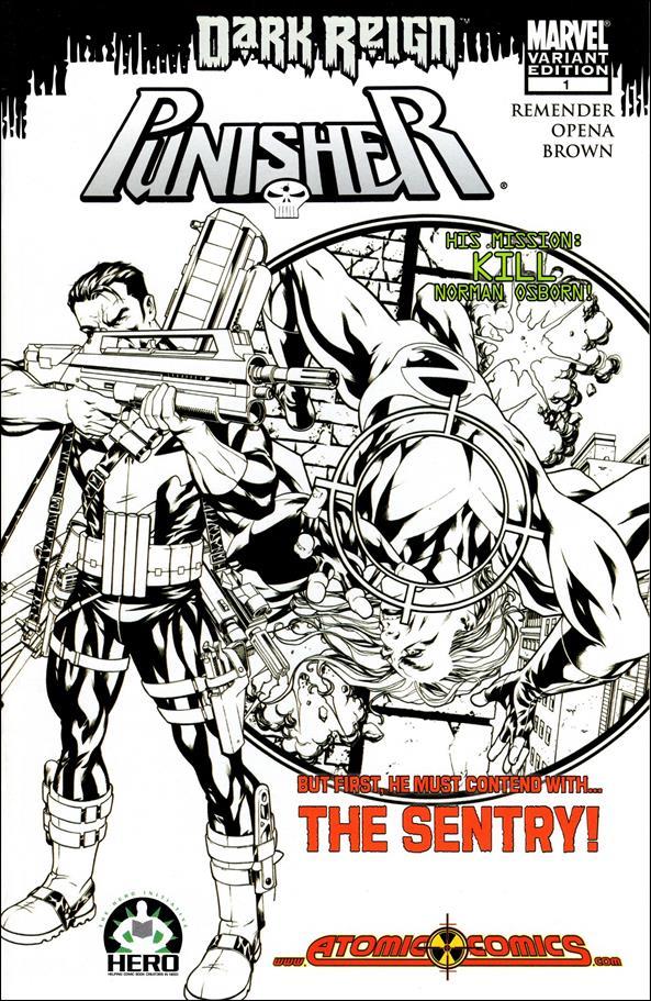 Punisher (2009) 1-C by Marvel