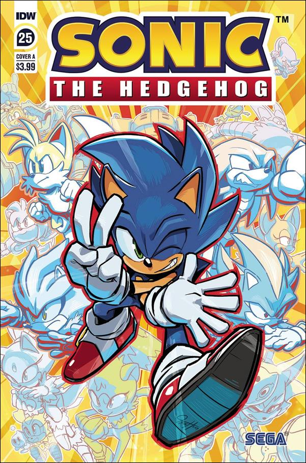 Sonic the Hedgehog (2018) 25-A by IDW