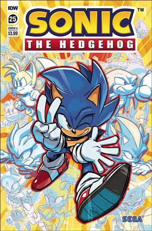 Sonic the Hedgehog (2018) 25-A
