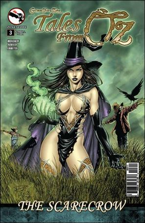 Grimm Fairy Tales Presents Tales From Oz 3-A