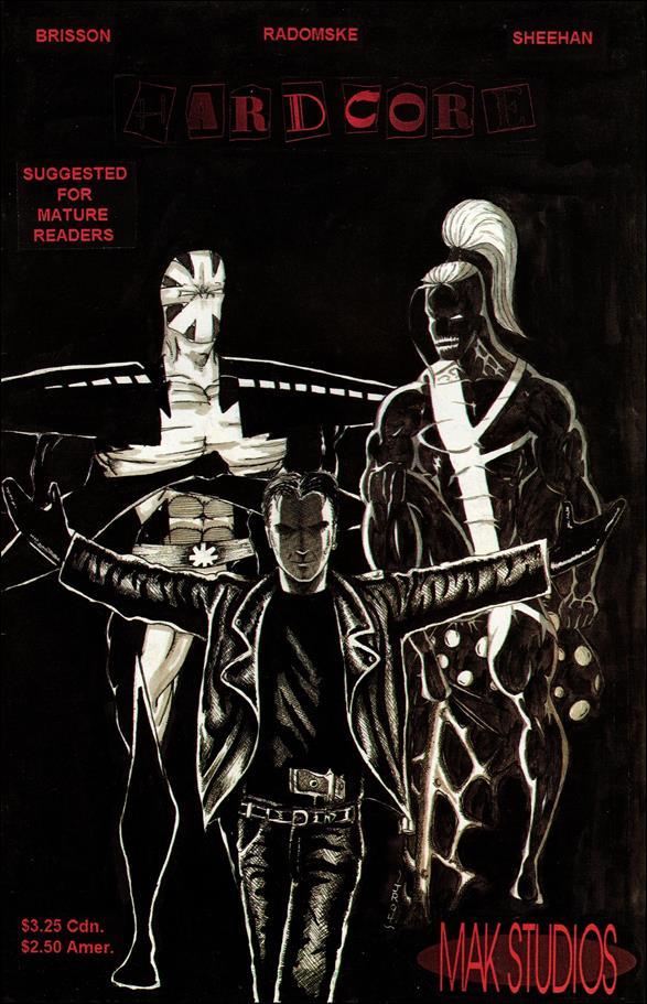Hardcore (1994) 1-A by MAK Studios