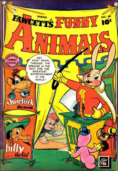 Fawcett's Funny Animals 66-A by Fawcett