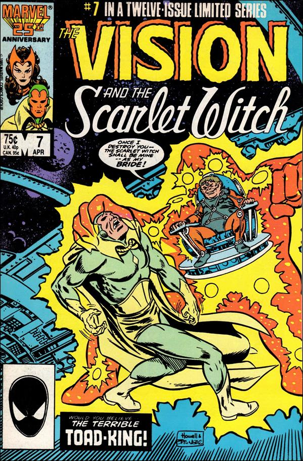 Vision and the Scarlet Witch (1985) 7-A by Marvel