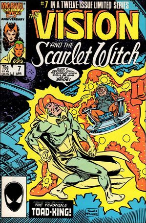 Vision and the Scarlet Witch (1985) 7-A