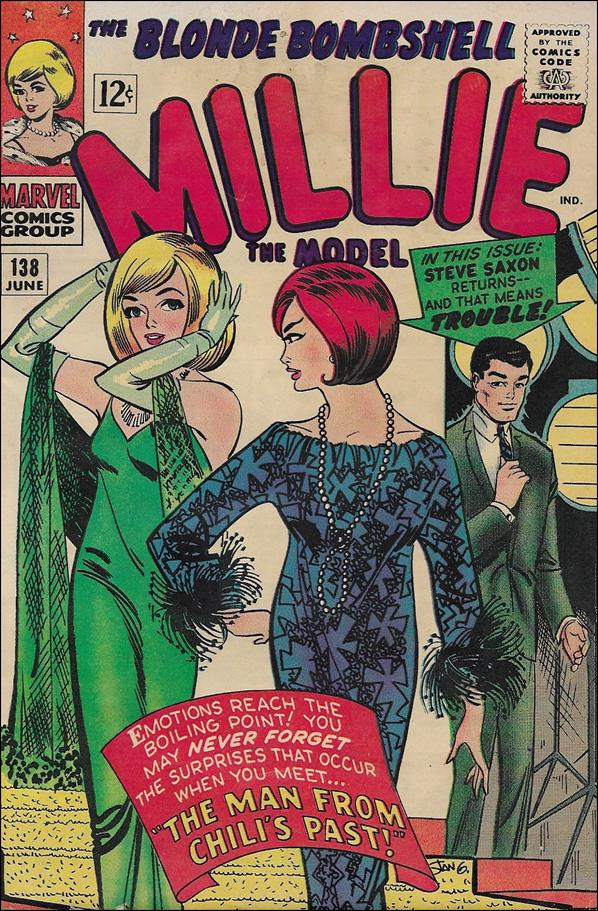 Millie the Model Comics 138-A by Marvel