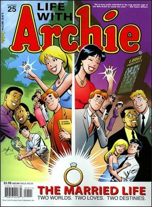 Life with Archie (2010) 25-A by Archie