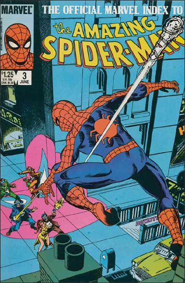 Official Marvel Index to the Amazing Spider-Man 3-A by Marvel