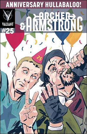 Archer & Armstrong (2012) 25-E