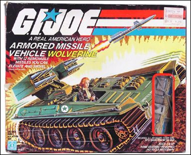 "G.I. Joe: A Real American Hero 3 3/4"" Basic Vehicles and Playsets Wolverine (Armored Missile Vehicle) by Hasbro"