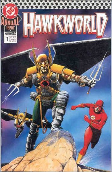 Hawkworld Annual 1-A by DC