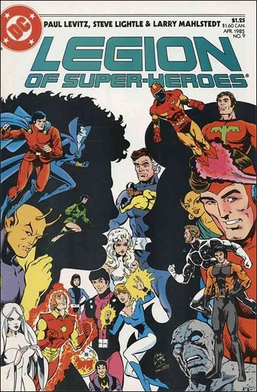 Legion of Super-Heroes (1984) 9-A by DC