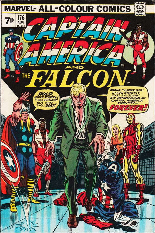Captain America (1968) 176-B by Marvel