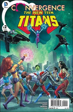 Convergence New Teen Titans 2-A