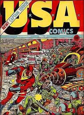 USA Comics 2-A by Marvel