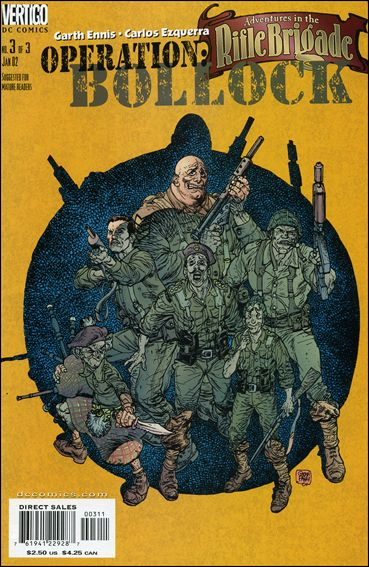 Adventures in the Rifle Brigade: Operation Bollock 3-A by Vertigo