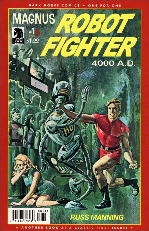 Magnus, Robot Fighter (1963) 1-B by Gold Key