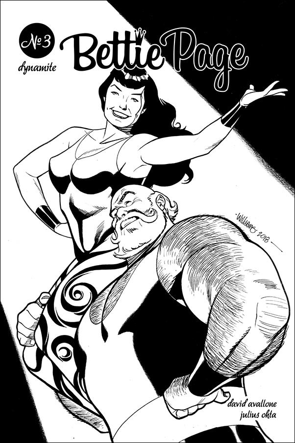 Bettie Page (2018) 3-G by Dynamite Entertainment