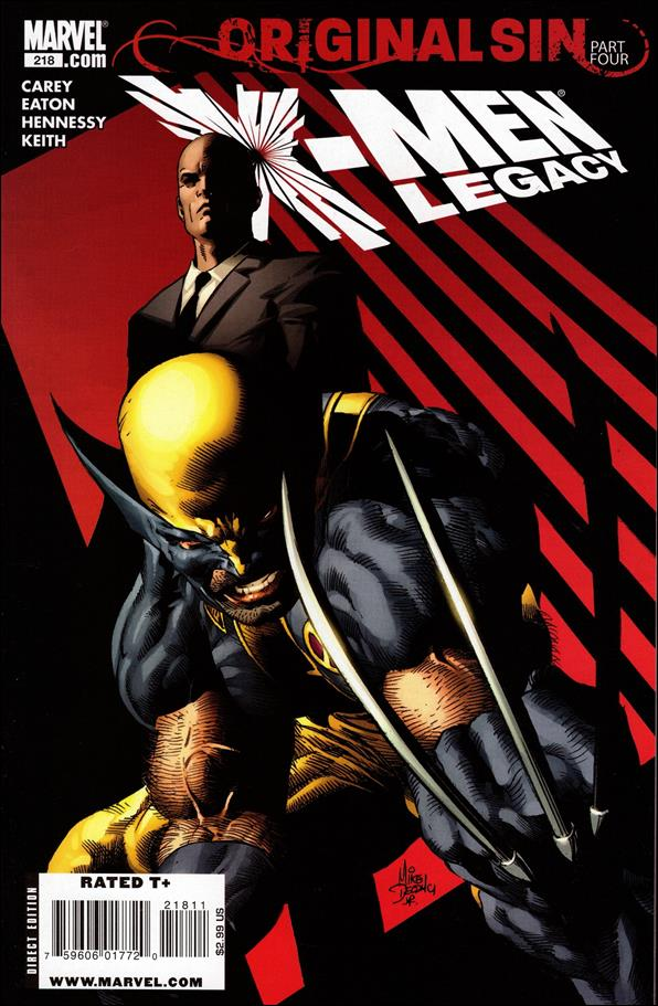 X-Men Legacy (2008) 218-A by Marvel
