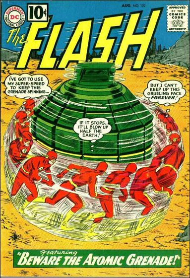 Flash (1959) 122-A by DC