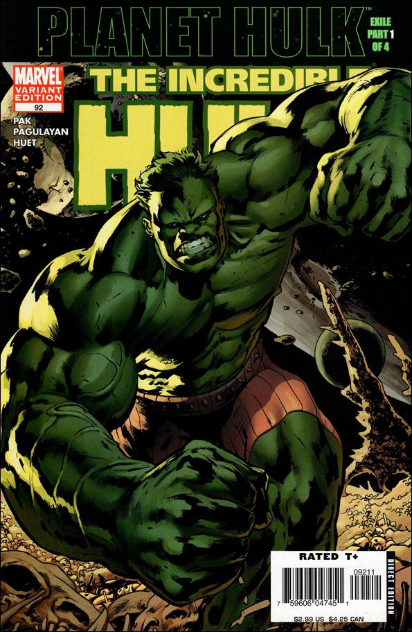 Incredible Hulk (2000)  92-B by Marvel