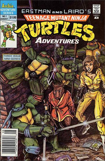 Teenage Mutant Ninja Turtles Adventures (1988) 1-A by Archie