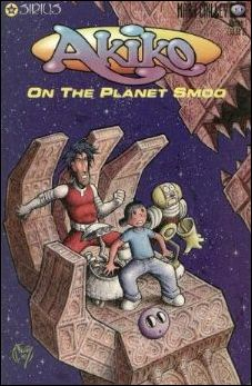 Akiko on the Planet Smoo 1-B by Sirius