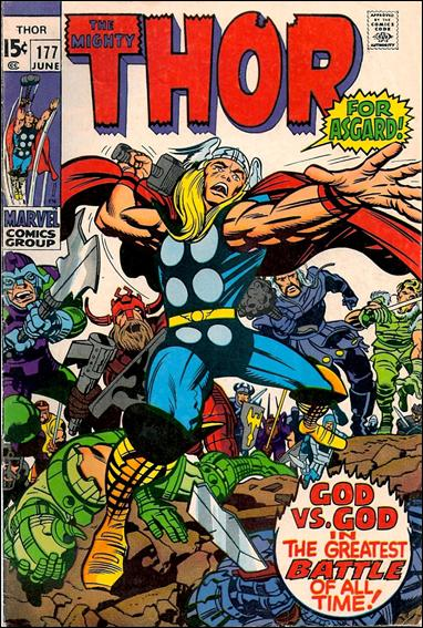 Thor (1966) 177-A by Marvel