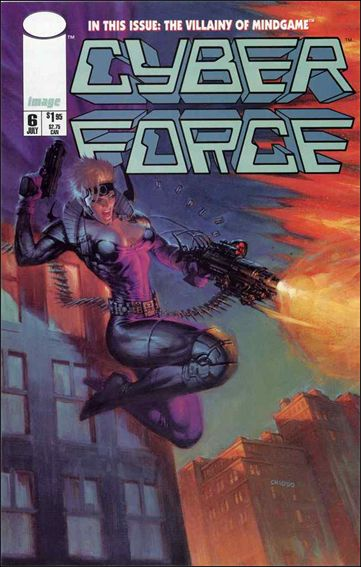Cyberforce (1993) 6-A by Image