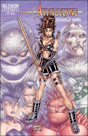 Avengelyne: Deadly Sins 1-A by Maximum Press
