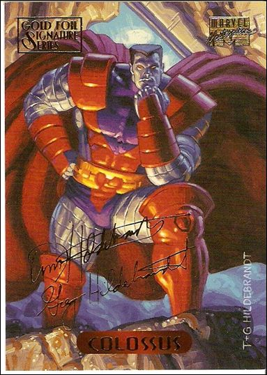 1994 Marvel Masterpieces (Gold-Foil Signature Parallel Base Set) 24-A by Fleer