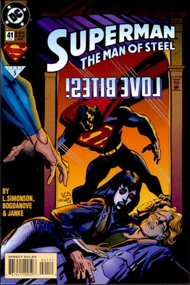 Superman: The Man of Steel 41-A by DC