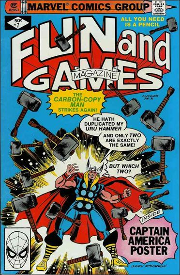Fun and Games Magazine 7-A by Marvel