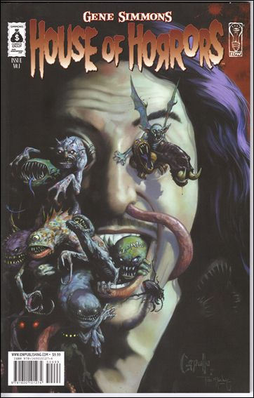 Gene Simmons House of Horrors 1-A by IDW