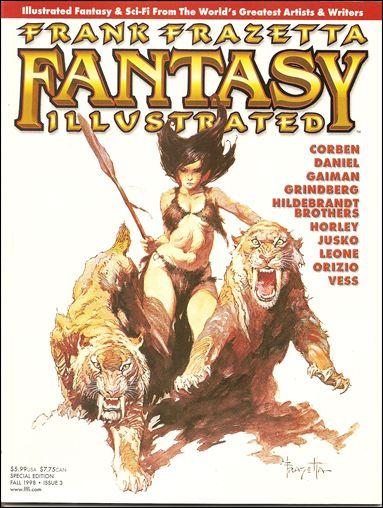 Frank Frazetta Fantasy Illustrated 3-A by Quantum Cat Entertainment