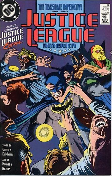 Justice League America 32-A by DC