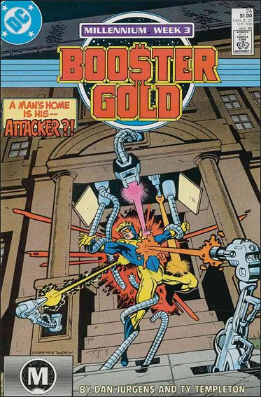 Booster Gold (1986) 24-A by DC