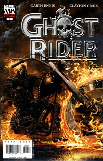 Ghost Rider (2005) 1-C by Marvel